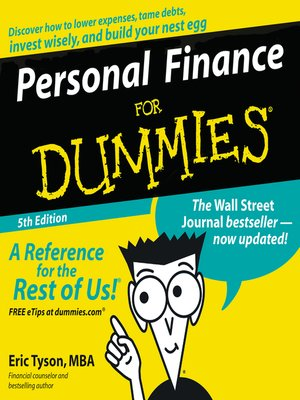 cover image of Personal Finance for Dummies®