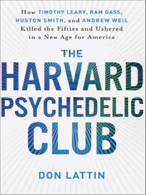 cover image of The Harvard Psychedelic Club