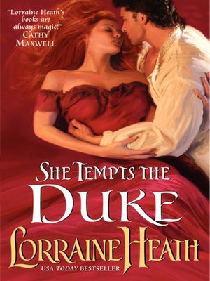 cover image of She Tempts the Duke