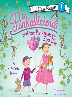 cover image of Pinkalicious and the Pinkatastic Zoo Day