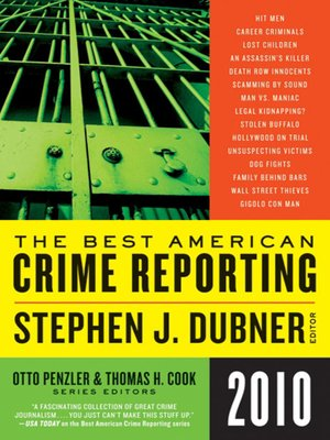 cover image of The Best American Crime Reporting 2010