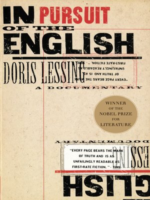 cover image of In Pursuit of the English