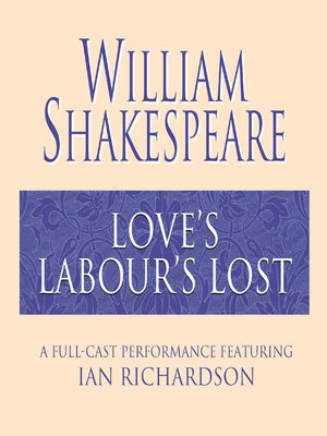 cover image of Love's Labour's Lost