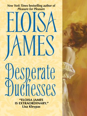 cover image of Desperate Duchesses