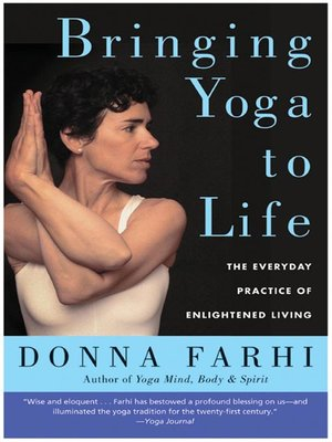 cover image of Bringing Yoga to Life