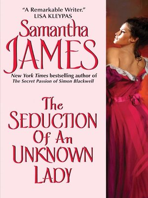 cover image of The Seduction of an Unknown Lady