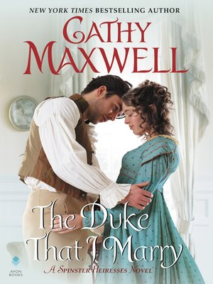 cover image of The Duke That I Marry