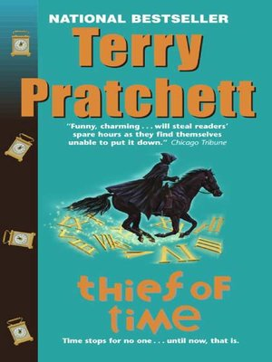 cover image of Thief of Time