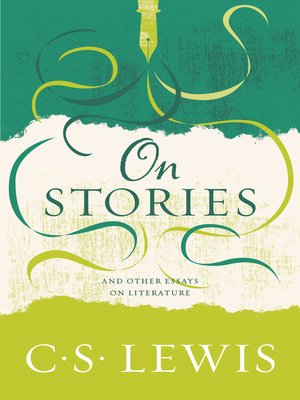 cover image of On Stories