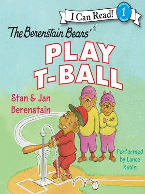 cover image of The Berenstain Bears' Play T-Ball