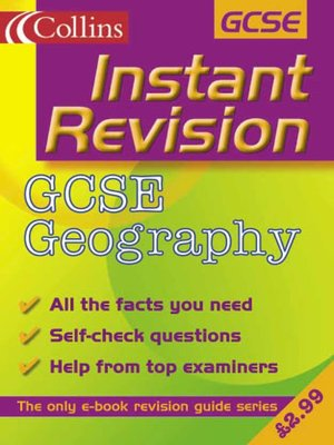 cover image of Instant Revision: GCSE Geography