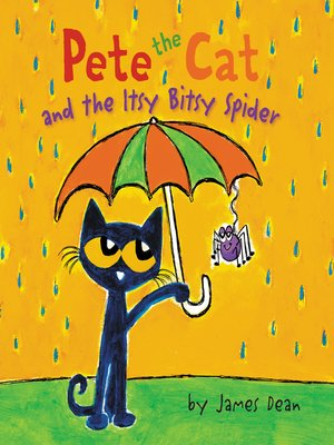 cover image of Pete the Cat and the Itsy Bitsy Spider