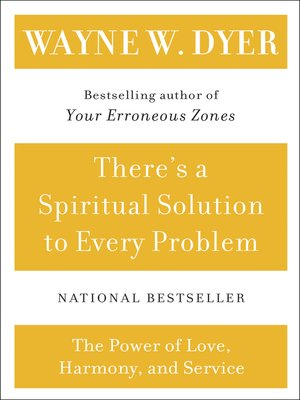 cover image of There's a Spiritual Solution to Every Problem