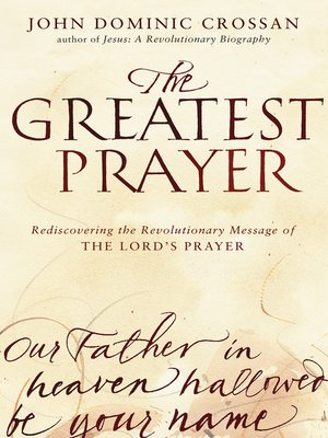 cover image of The Greatest Prayer