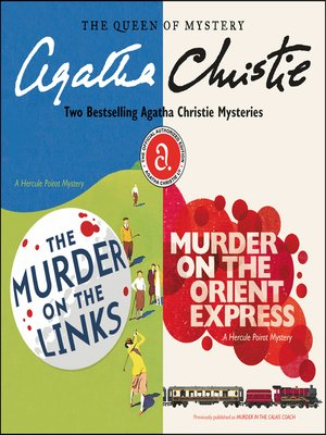 cover image of The Murder on the Links & Murder on the Orient Express