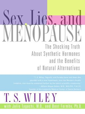 cover image of Sex, Lies, and Menopause