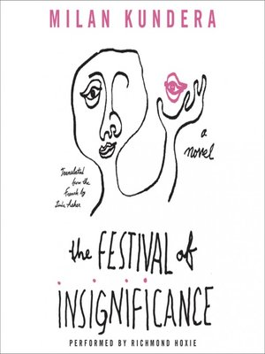 Milan kundera overdrive rakuten overdrive ebooks audiobooks cover image of the festival of insignificance fandeluxe Image collections