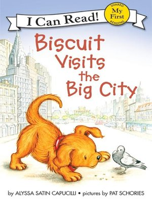 cover image of Biscuit Visits the Big City