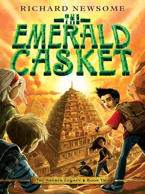 cover image of The Emerald Casket