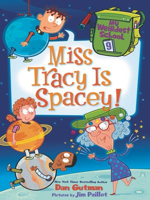 cover image of Miss Tracy Is Spacey!