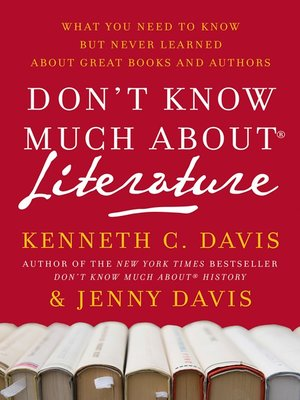 cover image of Don't Know Much About Literature