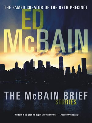 cover image of The McBain Brief