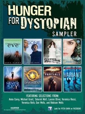 cover image of Hunger for Dystopian Teen Sampler
