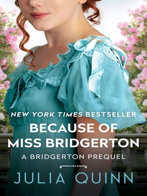 cover image of Because of Miss Bridgerton