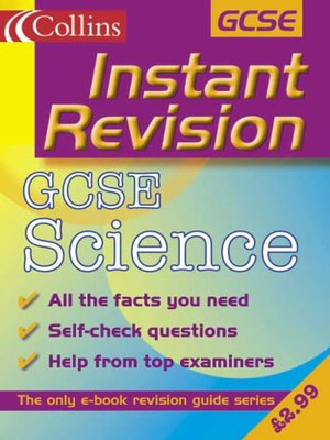 cover image of Instant Revision: GCSE Science
