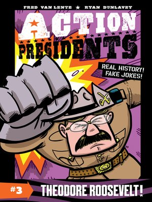 cover image of Theodore Roosevelt!