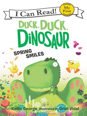 cover image of Duck, Duck, Dinosaur