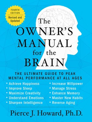 cover image of The Owner's Manual for the Brain ()