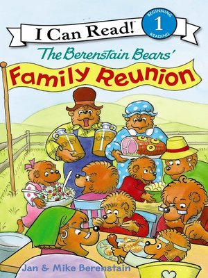cover image of The Berenstain Bears' Family Reunion