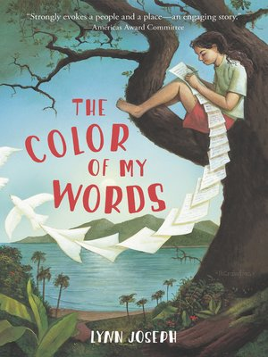 cover image of The Color of My Words