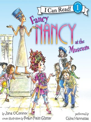 cover image of Fancy Nancy at the Museum