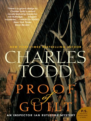 cover image of Proof of Guilt
