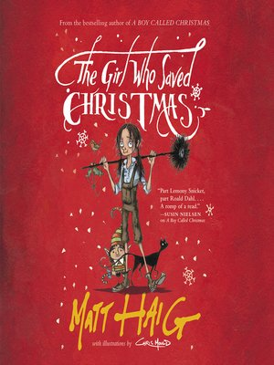 cover image of The Girl Who Saved Christmas