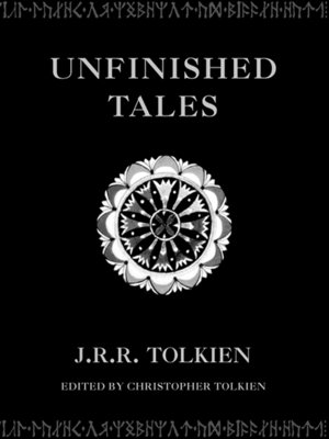 cover image of Unfinished Tales