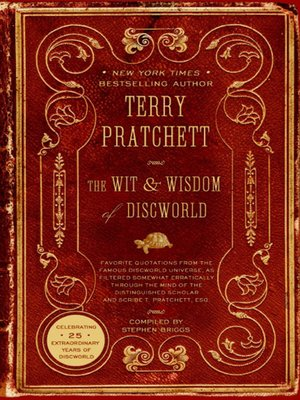 cover image of The Wit and Wisdom of Discworld
