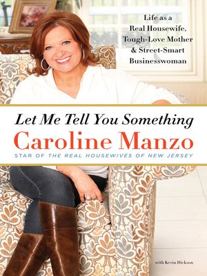 cover image of Let Me Tell You Something