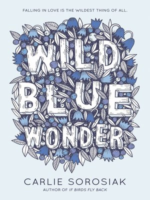 cover image of Wild Blue Wonder