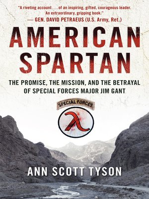 cover image of American Spartan