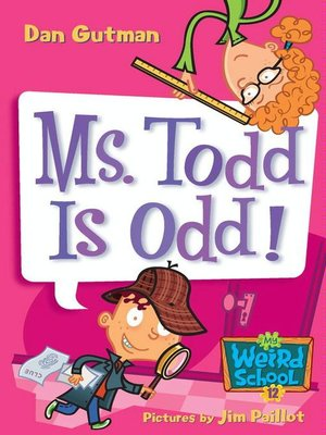 cover image of Ms. Todd Is Odd!