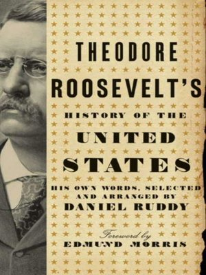 cover image of Theodore Roosevelt's History of the United States