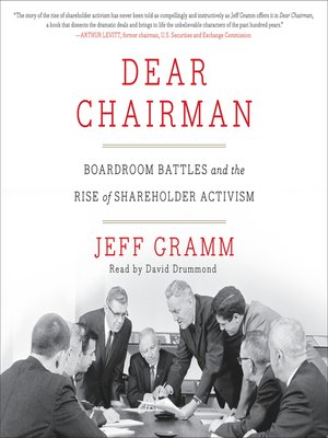 cover image of Dear Chairman