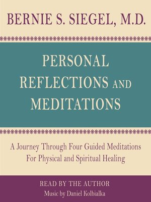 cover image of Personal Reflections & Meditations