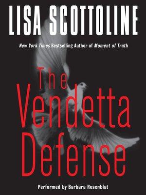 cover image of The Vendetta Defense