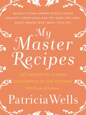 cover image of My Master Recipes