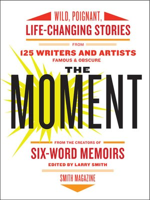 cover image of The Moment