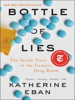 cover image of Bottle of Lies